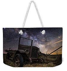 Stardust And  Rust Weekender Tote Bag