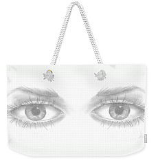 Stare Weekender Tote Bag by Terry Frederick