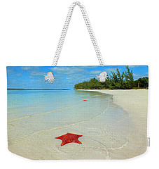 Starfish 5 Of Bottom Harbour Sound Weekender Tote Bag