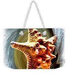 Weekender Tote Bag featuring the digital art Starfish by Daniel Janda