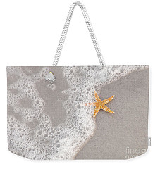 Starfish In The Surf Weekender Tote Bag