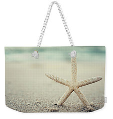 Starfish On Beach Vintage Seaside New Jersey  Weekender Tote Bag