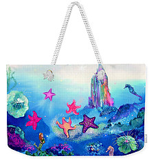 Starfish Play Weekender Tote Bag