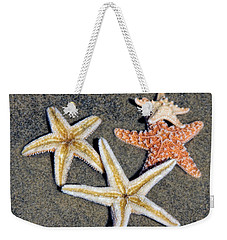 Starfish Weekender Tote Bag by Tammy Espino