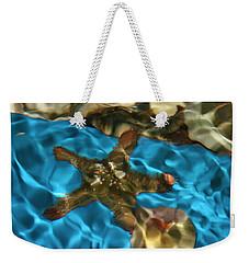 Starfish Under Rippling Water Weekender Tote Bag