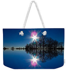 Starflection Weekender Tote Bag