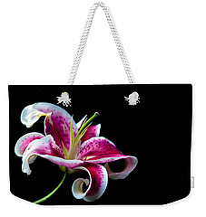 Weekender Tote Bag featuring the photograph Stargazer by Sennie Pierson