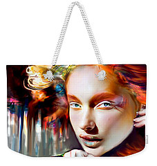 Stargirl I Bleed Color Weekender Tote Bag