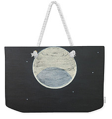 Weekender Tote Bag featuring the painting Starlight by Mini Arora