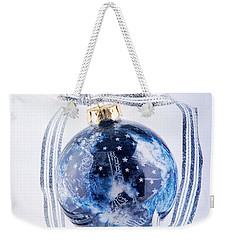 Christmas Ornament With Stars Weekender Tote Bag