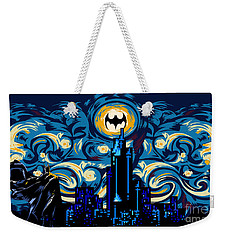 Starry Knight Weekender Tote Bag by Three Second