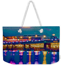 Starry Night At Nationals Park Weekender Tote Bag