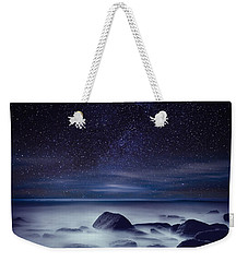 Starry Night Weekender Tote Bag by Jorge Maia