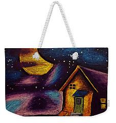Starry Night Weekender Tote Bag by Salman Ravish
