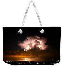 Starry Thundercloud Weekender Tote Bag