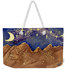 Stars Of Heaven And Earth Weekender Tote Bag