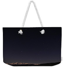 Stars Over Sawatch Weekender Tote Bag by Jeremy Rhoades