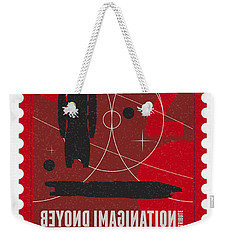 Starschips 02-poststamp - Battlestar Galactica Weekender Tote Bag by Chungkong Art