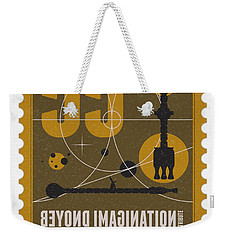 Starschips 55-poststamp -discovery One Weekender Tote Bag by Chungkong Art