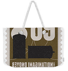 Starschips 89-bonus-poststamp - Dr Who - Tardis Weekender Tote Bag by Chungkong Art