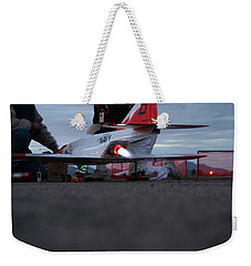 Weekender Tote Bag featuring the photograph Startup by David S Reynolds