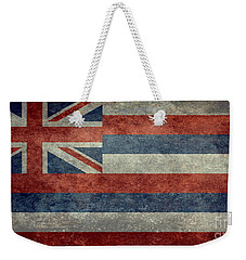 State Flag Of Hawaii Vintage Version Weekender Tote Bag