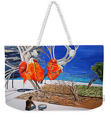 State Of Emotion The Pulse Let It Work... Weekender Tote Bag by Lazaro Hurtado