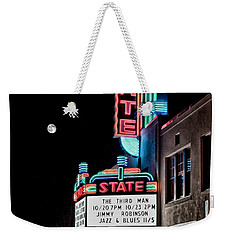 State Theater Weekender Tote Bag by Jim Thompson