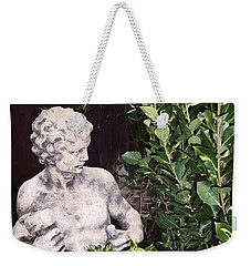Weekender Tote Bag featuring the photograph Statue 1 by Pamela Cooper