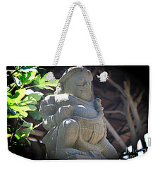 Statue In The Sun Weekender Tote Bag