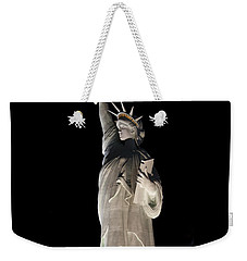 Statue Of Liberty After Midnight Weekender Tote Bag