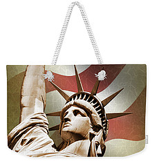 Statue Of Liberty Weekender Tote Bag