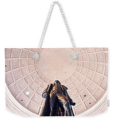 Statue Of Thomas Jefferson Weekender Tote Bag by Panoramic Images