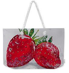 Stawberries Weekender Tote Bag