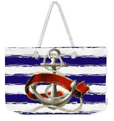 Stay Anchored Weekender Tote Bag