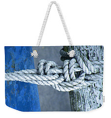 Weekender Tote Bag featuring the photograph Stay by Brian Boyle