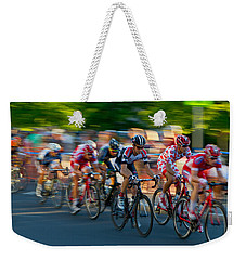 Weekender Tote Bag featuring the photograph Stay Focused by Kevin Desrosiers