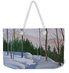 Stay On The Path Weekender Tote Bag