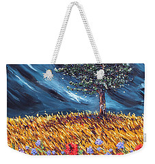 Weekender Tote Bag featuring the painting Steadfast Love by Meaghan Troup