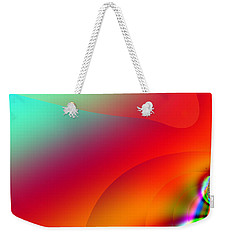 Weekender Tote Bag featuring the digital art Stealth by Wendy J St Christopher