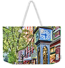 Steam Clock In Vancouver Gastown Weekender Tote Bag