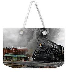 Steam Locomotive 734  Weekender Tote Bag