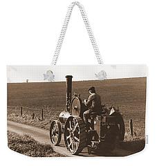 Steam Tractor Weekender Tote Bag