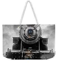 Steam Train Dream Weekender Tote Bag
