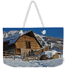 Steamboat Barn Weekender Tote Bag by Don Schwartz
