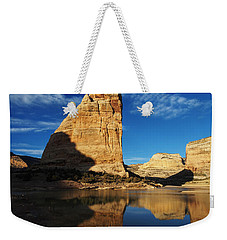 Steamboat Rock In Dinosaur National Monument Weekender Tote Bag