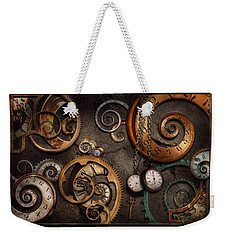 Steampunk - Abstract - Time Is Complicated Weekender Tote Bag