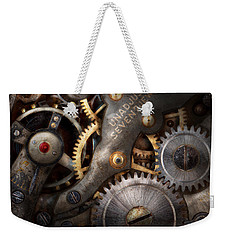 Steampunk - Gears - Horology Weekender Tote Bag