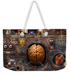 Steampunk - Information Overload Weekender Tote Bag