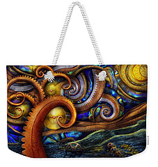 Steampunk - Starry Night Weekender Tote Bag